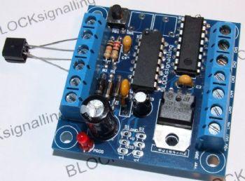 Block Signalling Level Crossing Controller